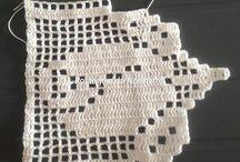 Bordes a crochet - palillos