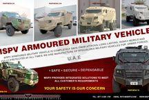 Armored Military Vehicles UAE