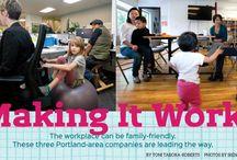 Work-Life Balance Portland / Parents trying to balance work and life