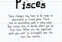 Pisces Astrology / This is a collection of all things Pisces