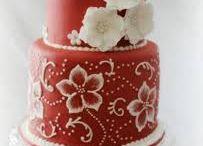 malovane torty