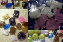 FOR BATH / Sůl z Mrtvého moře, bylinková mýdla, sprchový gel - tvořeno doma