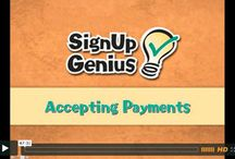 Webinars / These free webinars courtesy of SignUpGenius will teach you some necessary tips and give you some insider information to make online organizing even easier.