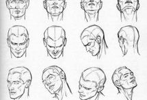 Drawing References - Face & Expressions