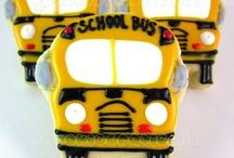 Cookie Project: School Bus