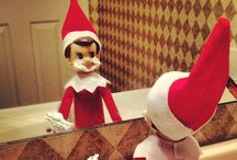 Elf On The Shelf  / by Marie-Claire Vienneau