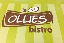 Ollies bistro / snídaně, polévky, bagety, saláty, sendviče, denní nabídka teplé jídla, dezerty, káva
