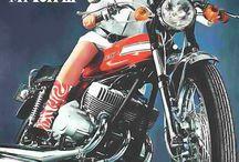 Publicités motos et autres