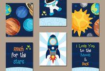 Rocket inspo / For babys room