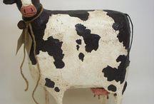 бык, корова