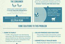Infografías / Descubre a través de estas imágenes, datos y estadísticas sobre desperdicio alimentario.