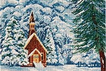 Winter Wonderland / A collection of lovely wintery scenes and crafty item inspired by the season.