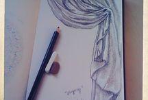 Drapery sketch