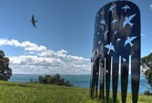 NZ Sculpture OnShore Exhibition 2014