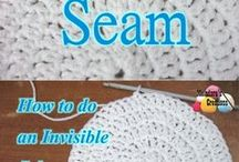 invisible crochet seam