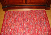 Red Rug and Tea Towel Ideas