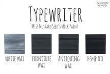 Typewriter - Miss Mustard Seed's Milk Paint