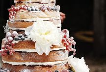 Rustic Wedding cakes / by Heather Baggett