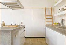 keuken beton / keukens betonnen blad