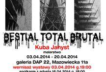 Kuba Janyst - Bestial Total Brutal - GALERIA DAP 22 / Pałac Kultury i Nauki, Scampia, NOT i death metal, noise i dark ambient - BESTIAL TOTAL BRUTAL - Kuba Janyst - malarstwo - 03 - 20.04.2014 Galeria DAP 22 http://artimperium.pl/wiadomosci/pokaz/207,kuba-janyst-bestial-total-brutal-galeria-dap-22#.Uyor-vl5OSo