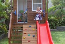 Swiss Family Robinson / Treehouse playhouse fort ideas