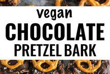 Vegan zoete snacks
