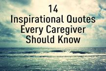 """Inspiration for Caregivers / """"If you want others to be happy, practice compassion. If you want to be happy, practice compassion."""" — Dalai Lama"""