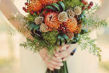 Colour: Autumn fire wedding