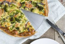 Quiche / Broccoli
