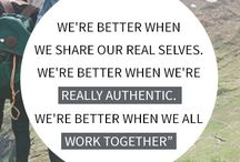 Wise words - authenticity / by Jamie Barnwell