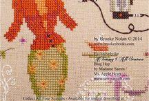 Cross stitch Patterns VINTAGE / by MADAMESAMM