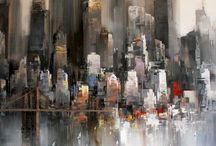 abstract cities