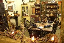 Primitive/Country/Shabby/Vintage Dining Rooms / All things cute for the dining room!  / by Nicole S