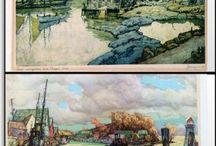 Canadian Landscapes Watercolour / Watercolour