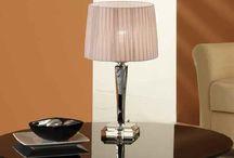 Настольные с плафонами из ткани / Настольные светильники • настольные лампы• дизайнерские лампы • абажур ткань • плафон ткань | o-svet.ru