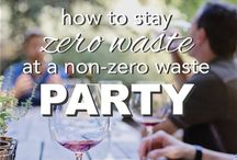 Zero Waste || Events / Tips for running zero waste, ethical and environmentally consious weddings, parties, and other events