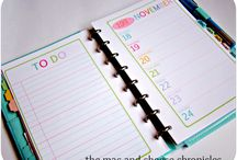 Planner / Some inspiring ideas for my planner