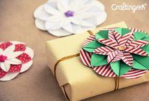 Manualidades decoración cajas cartón