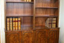 Traditional Bookcases / Traditional English made Bookcases.