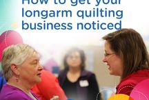 Running a quilt business / Tips and tricks on how to run a successful quilting business.