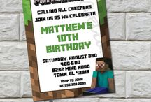 Minecraft Birthday Party Ideas / Minecraft