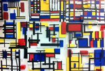 Kunst * Art * Mondriaan