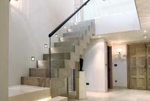 escaliers lumineux