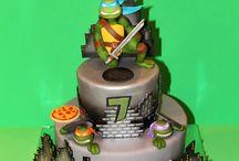 TMNT Cakes