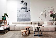 Interieur - foto's aan de muur