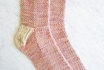Kötött-horgolt zoknik