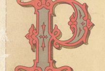 alphabet / lettere dell'alfabeto