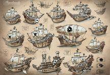 flying ships. летающие корабли