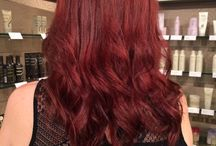 The Radiant Reds / Tones & Shades of violet, copper, auburn, plum and so many more! Who says you can't have fun being a red-head!