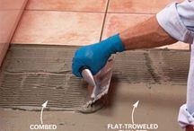 how to install heated floor